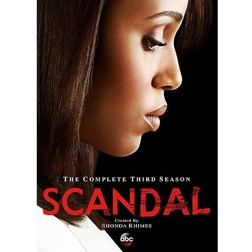 SCANDAL-COMPLETE 3RD SEASON (DVD/4 DISC/WS)