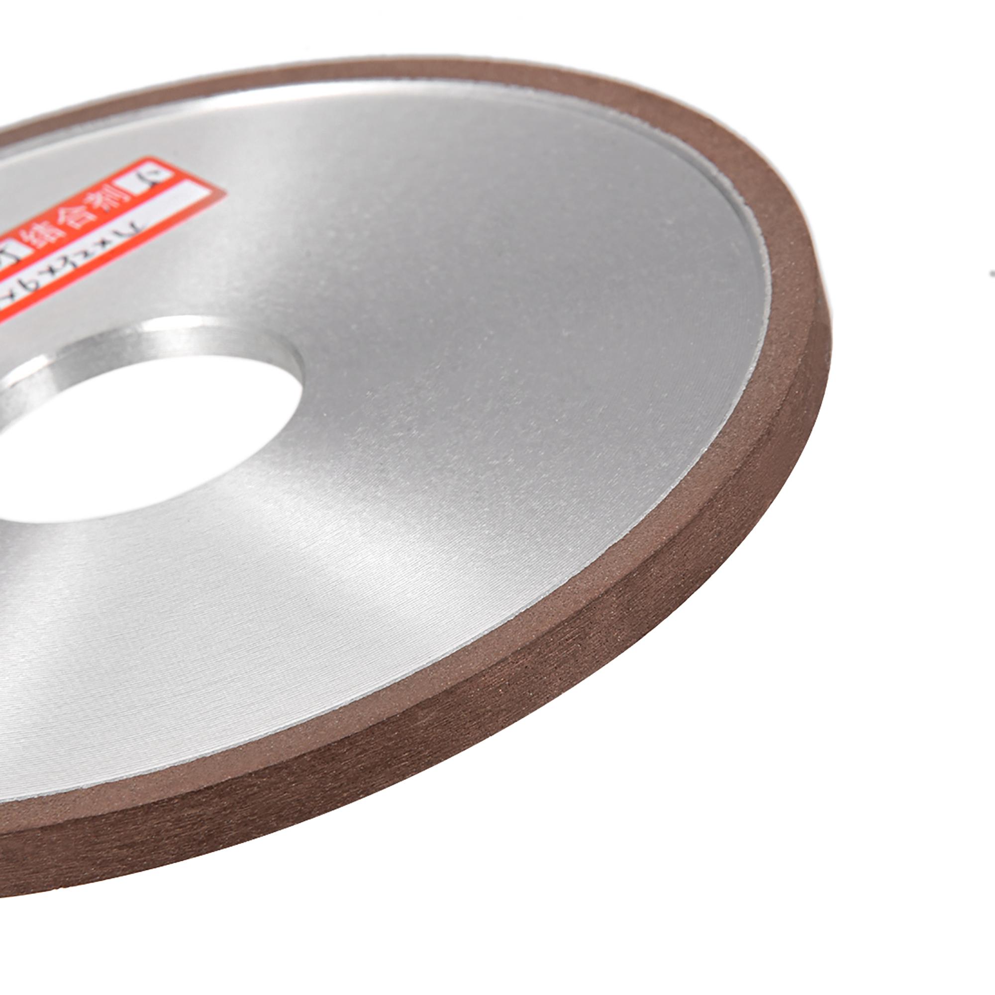 5-Inch Diamond Grinding Wheels Resin Bonded Flat Abrasive Wheel for Carbide Metal 150 Grits 75% - image 2 de 3