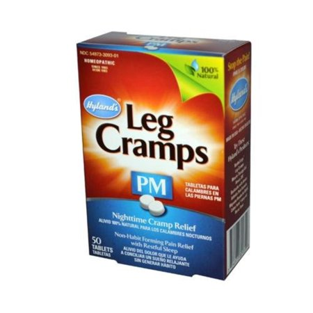 Image of Hylands Hylands Leg Cramps Pm, 50 tabsLeg cramps PM helps you fall asleep, stay asleep and relieves leg cramps overnight. By Hylands Homeopathic