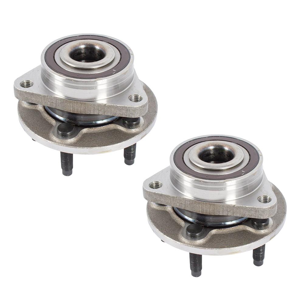 "Set of Front Wheel Hub Bearings for Chevrolet Cruze & Cruze Limtied with 15"" Rotors 13500571 HA590402"