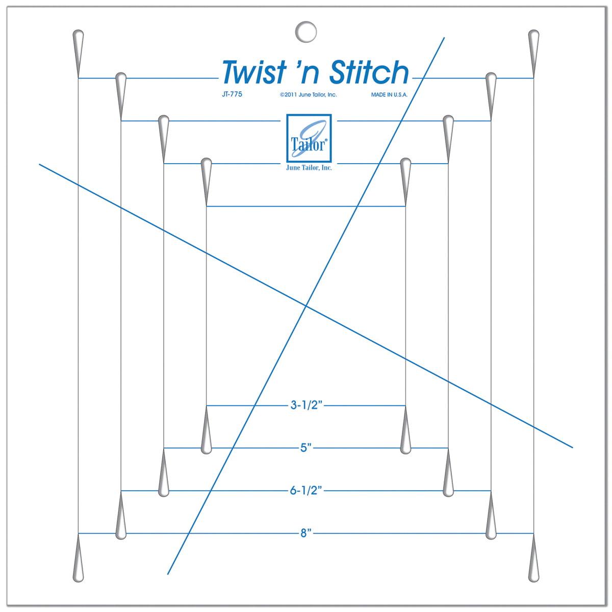 June Tailor JT-775 Twist n Stitch Ruler