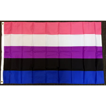 3x5 Gender Fluid Flag Sexual Identity LGBT Pride Outdoor Banner Polyester (Pink Floyd Flag)