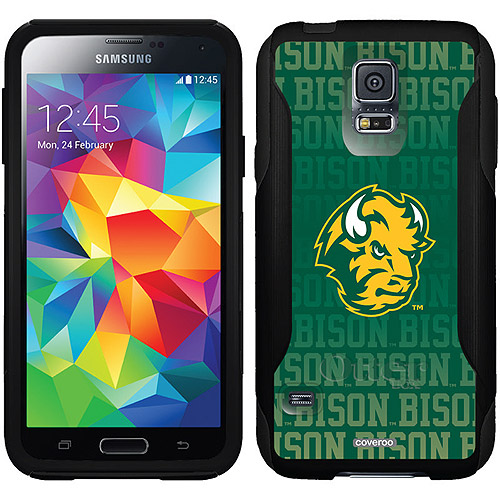 North Dakota State Repeating Design on OtterBox Commuter Series Case for Samsung Galaxy S5