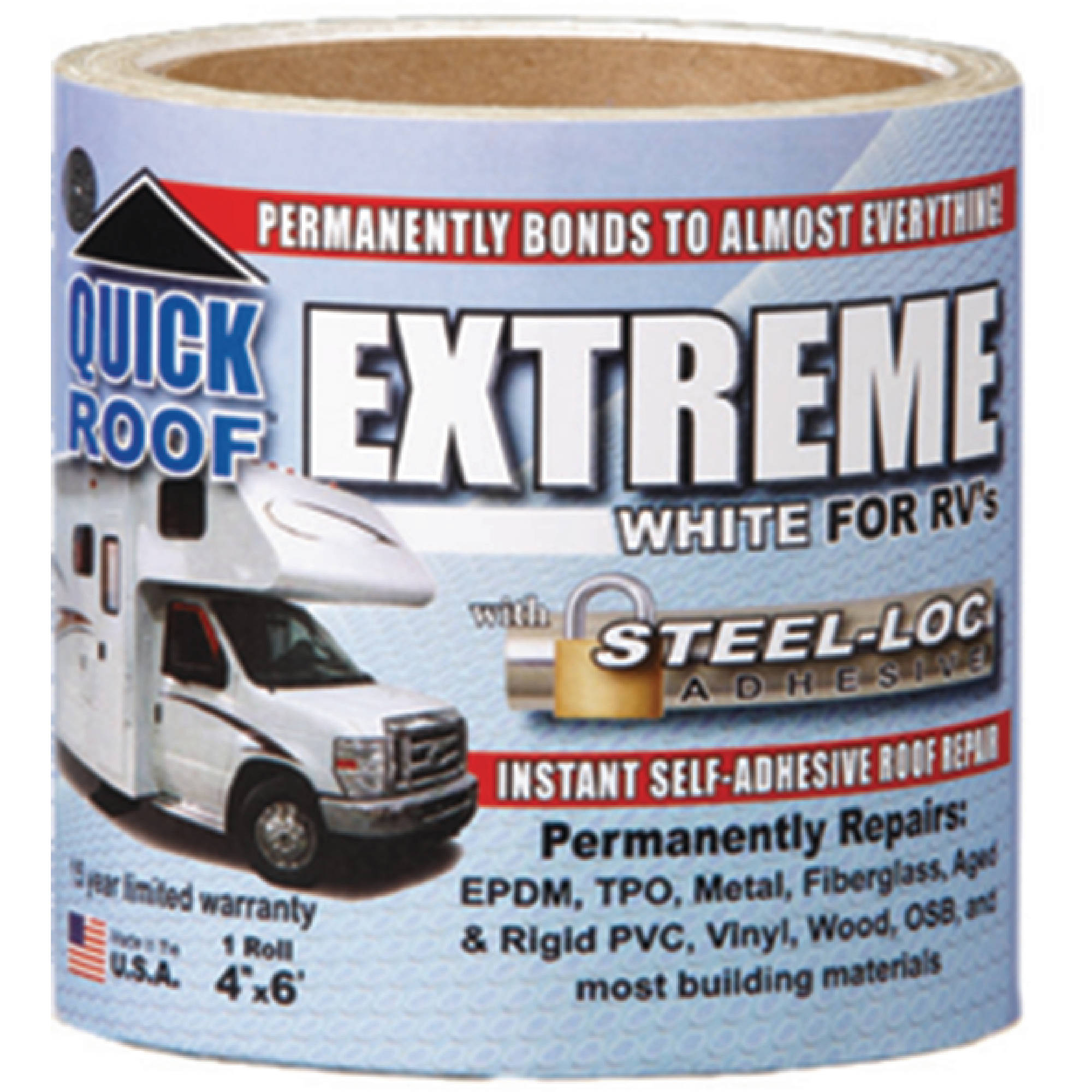 quick roof extreme white for rv s walmart