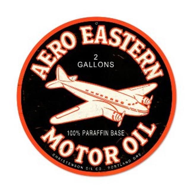 New Aero Eastern Motor Oil Classic Vintage Rustic Metal Advertising Sign PTS195