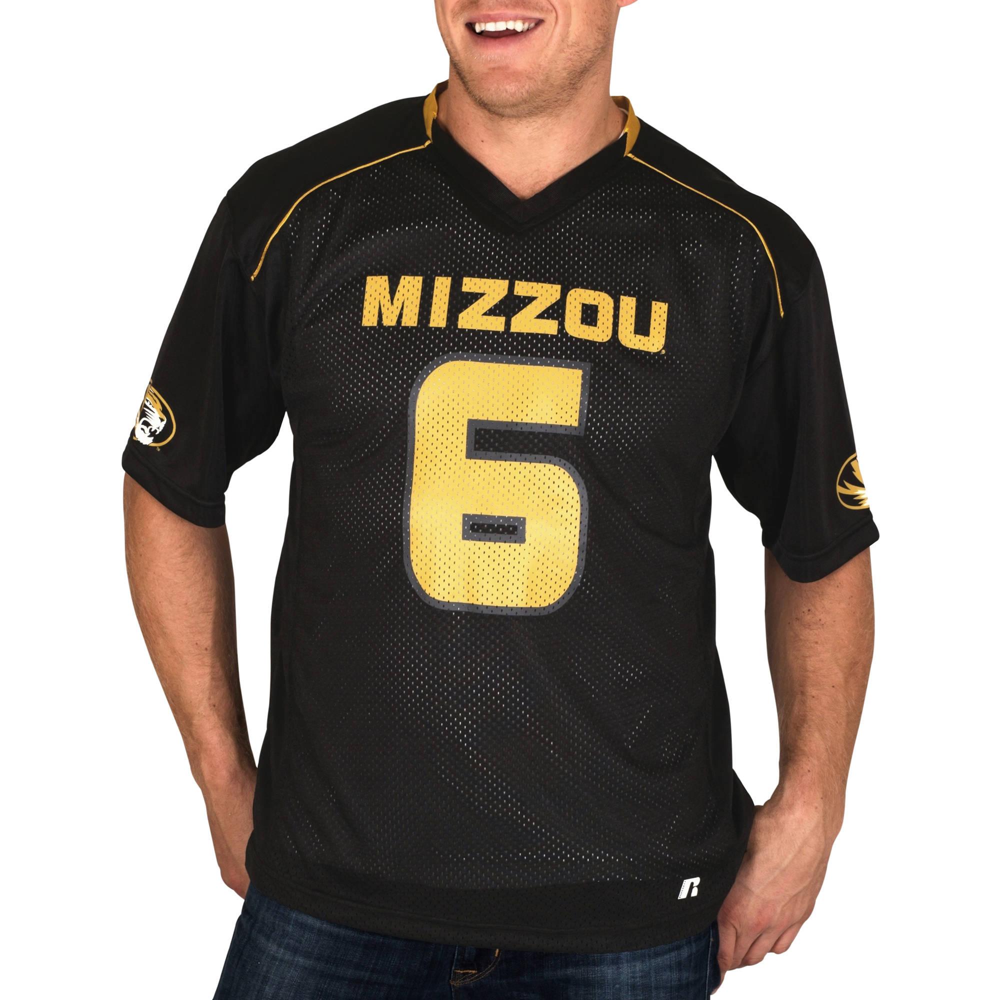 Russell NCAA Missouri Tigers Men's    Jersey
