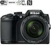 Nikon COOLPIX B500 16MP 40x Optical Zoom Digital Camera with wifi Black - (Renewed)