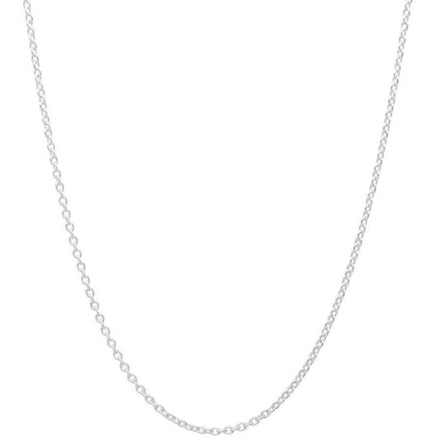 Image of A .925 Sterling Silver 2mm Cable Chain, 18""
