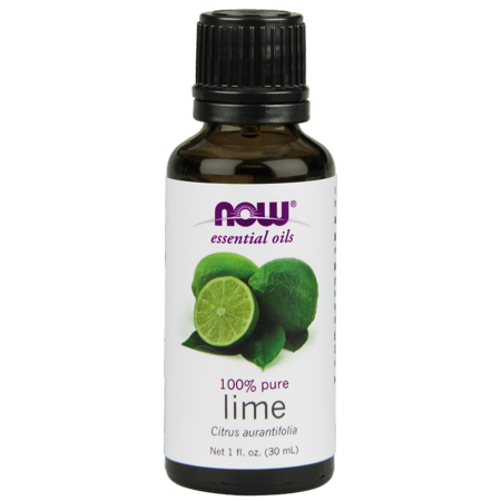 NOW Essential Oils Lime, 1 Fl Oz