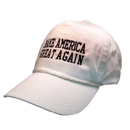 Donald Trump 2016 Make America Great Again Hat with Rope Front