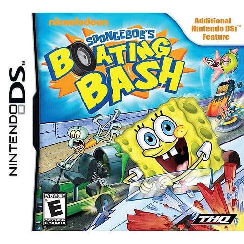 SpongeBob Squarepants: Boating Bash (DSi)