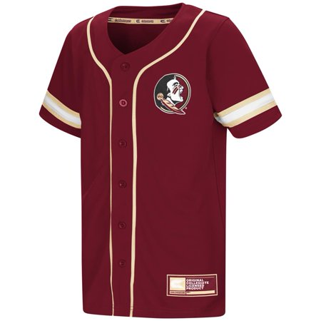 State Baseball Jersey - Youth FSU Florida State University Baseball Jersey