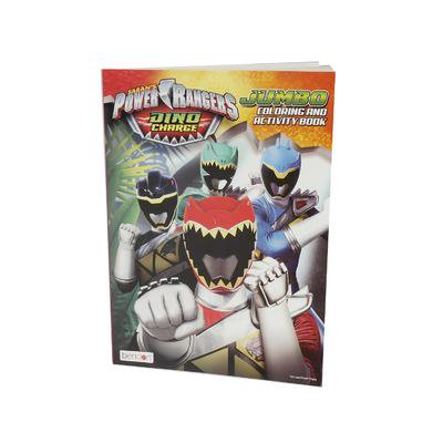 Power Ranger Coloring Pages (96pg POWER RANGERS JUMBO COLORING BOOK( STYLE MAY)