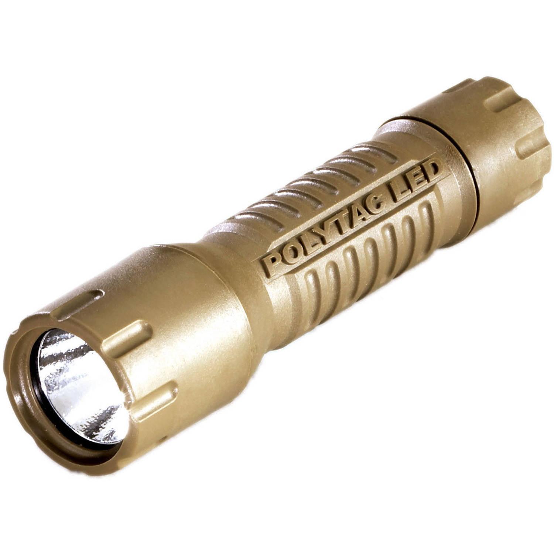 Streamlight PolyTac LED 2CR123A Flashlight, Coyote by Streamlight Inc