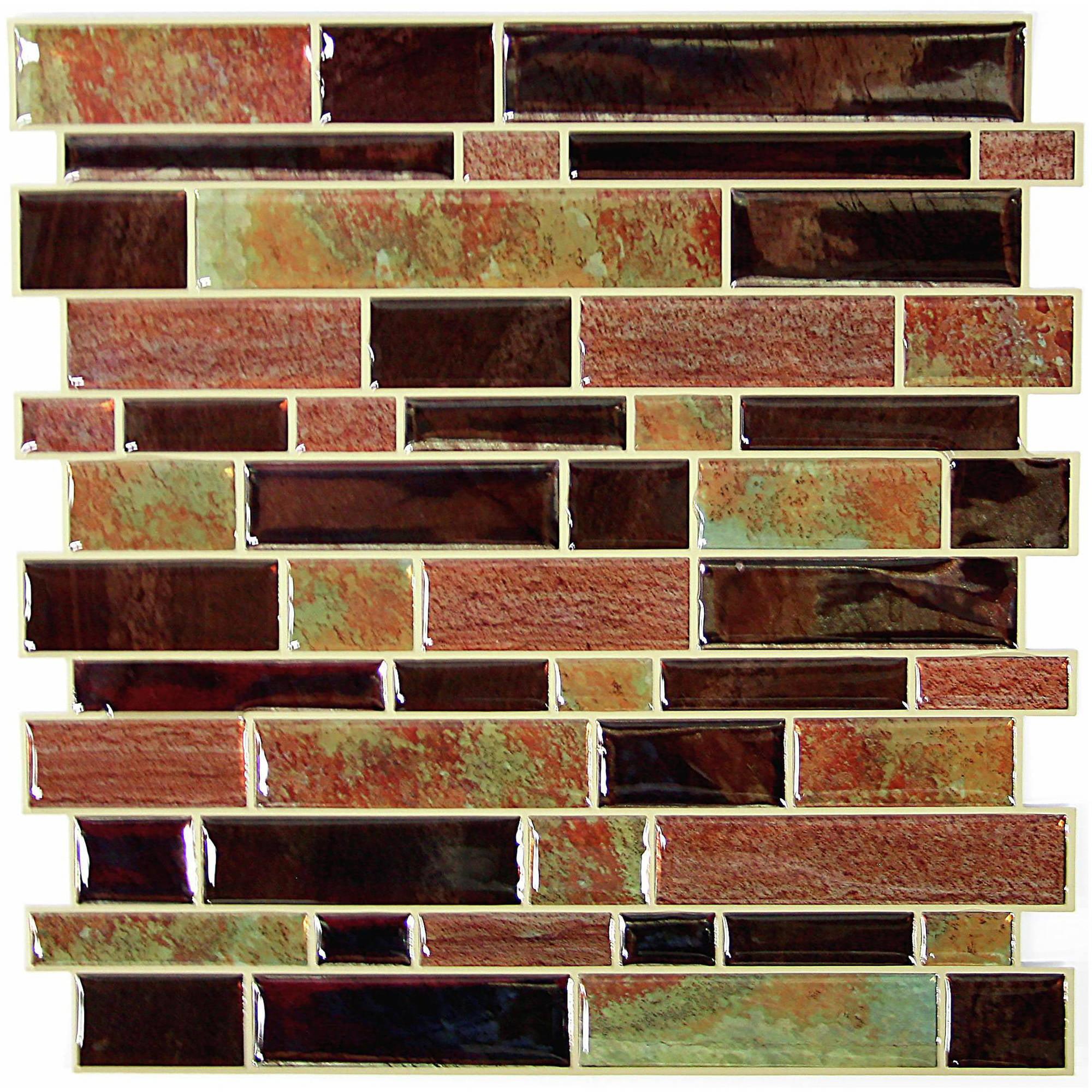4pk Modern Long Stone Sticktiles - RoomMates