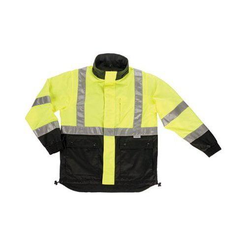 Ergodyne GloWear 8360 Class 2 Reversible Work Jacket, 2X-Large