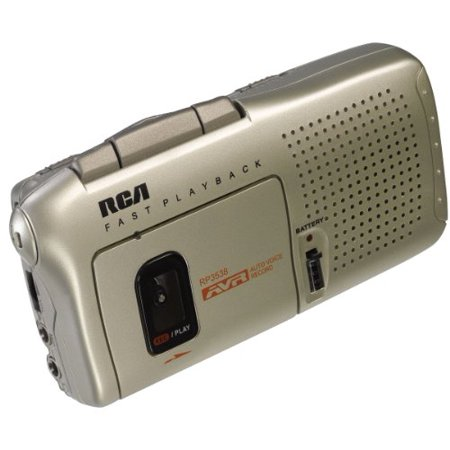 RCA RP3538R Micro-Cassette Voice Recorder by