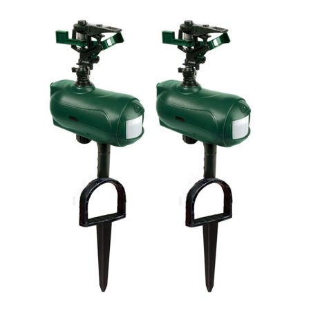 - Havahart Spray Away Motion Activated Sprinkler 2.0 Twin Pack Model #5266B