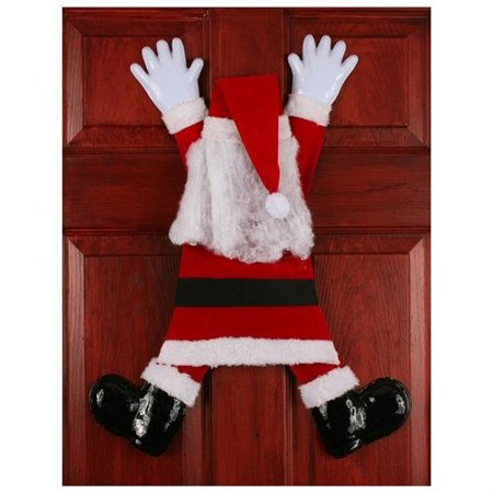 Christmas Wrong Way Crashing Santa Claus Holiday Decor Prop Decoration Funny - Funny Halloween Prizes
