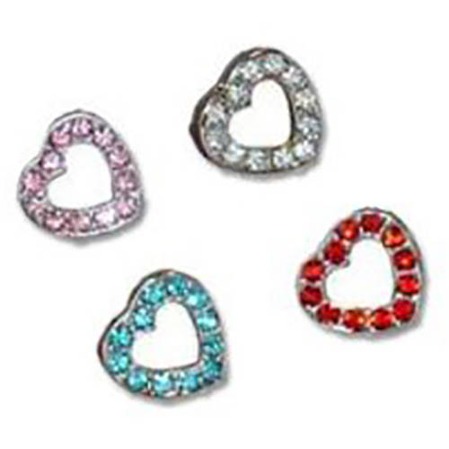 Image of 993967 Charm Red Hearts