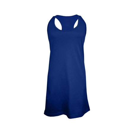 Hometown Clothing Bundle: Boxercraft Sleep Tank Dress or Bathing suit cover-up & 10% off coupon for a future purchase with us, Navy Blue-XL