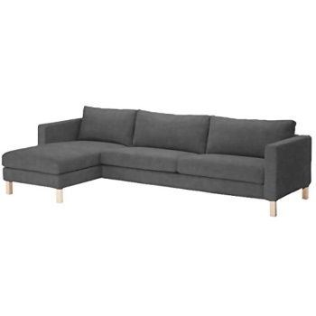 ... Sofa Cover Only! Durable Heavy Cotton Karlstad Three Seat Sofa And Chaise  Lounge Cover Replacement