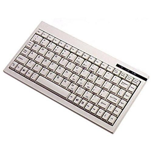 Adesso Ack-595pw Mini Ps/2 Keyboard [white] (ack595)
