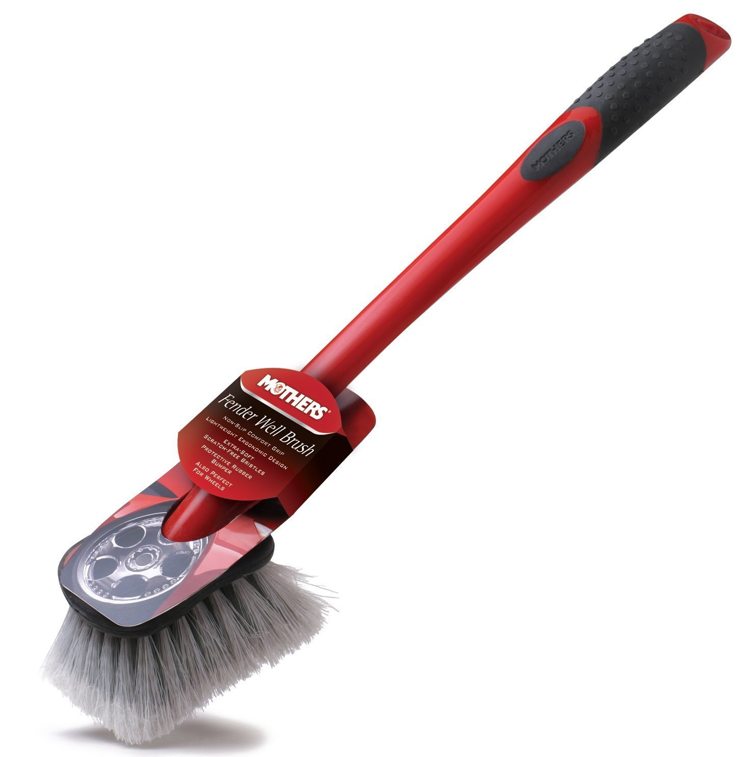 Mothers Long Handed Wheel Well Brush
