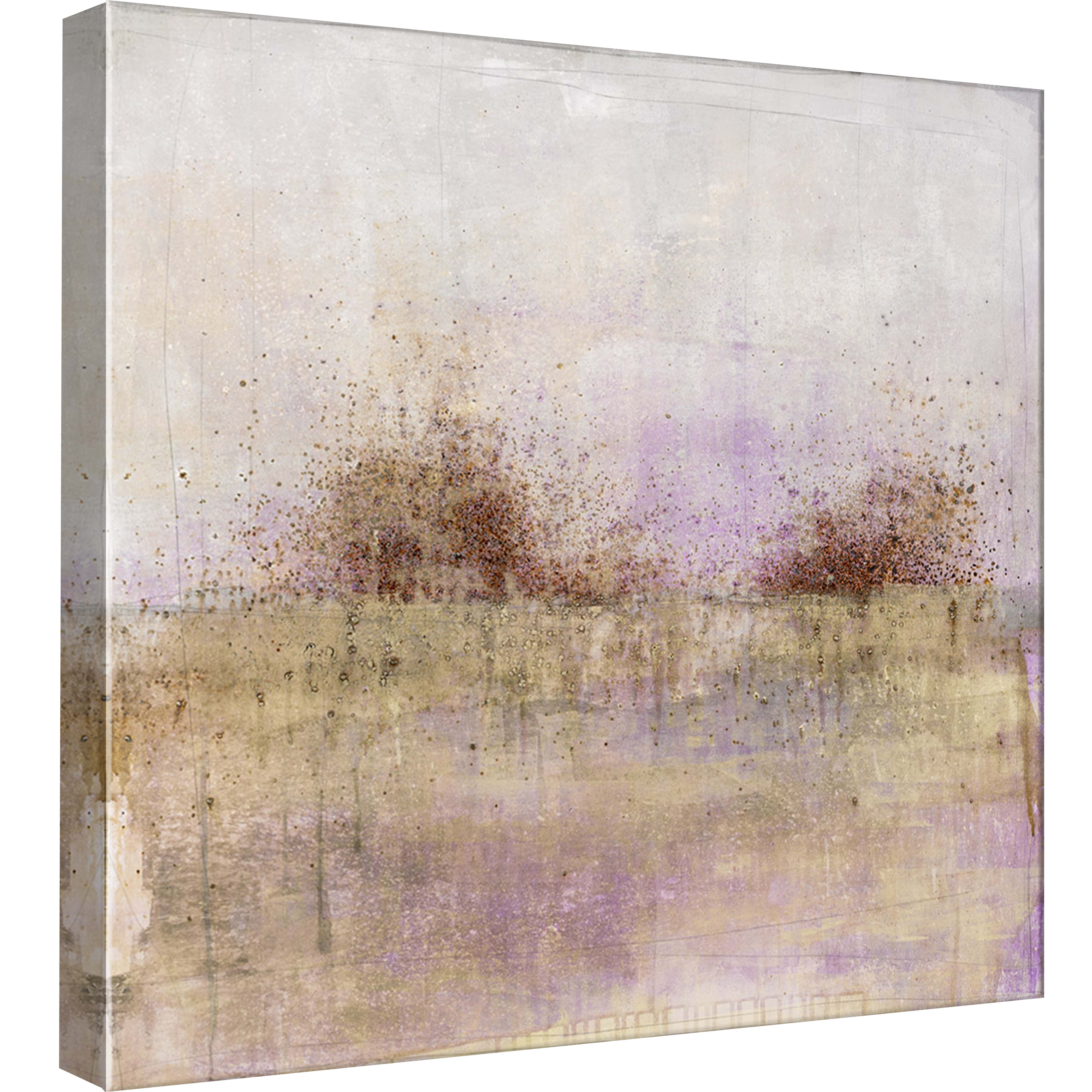 PTM Images,Granulated Amethyst, 20x20, Decorative Canvas Wall Art