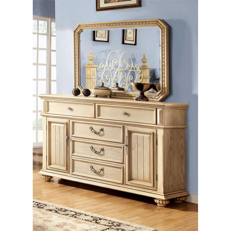 America Thayer 2 Piece Wood Dresser