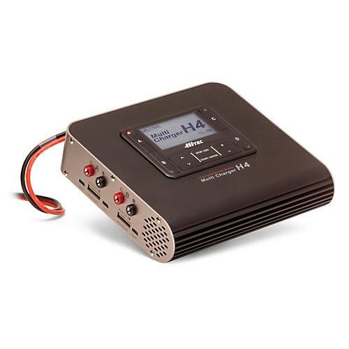 H4 DC 4 Port Smart Battery Charger Multi-Colored