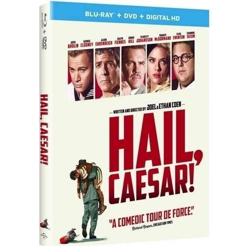 Hail, Caesar! (Blu-ray + DVD + Digital HD) (With INSTAWATCH)