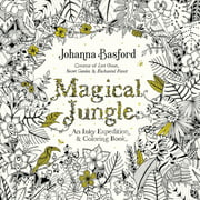 Penguin Putnam Inc. Magical Jungle: An Inky Adventure and Coloring Book Johanna Basford; 88 Pages