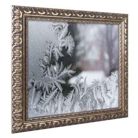 Trademark Fine Art 'Frost on my Window IV' Canvas Art by Kurt Shaffer Gold Ornate (Opsite Iv Window)