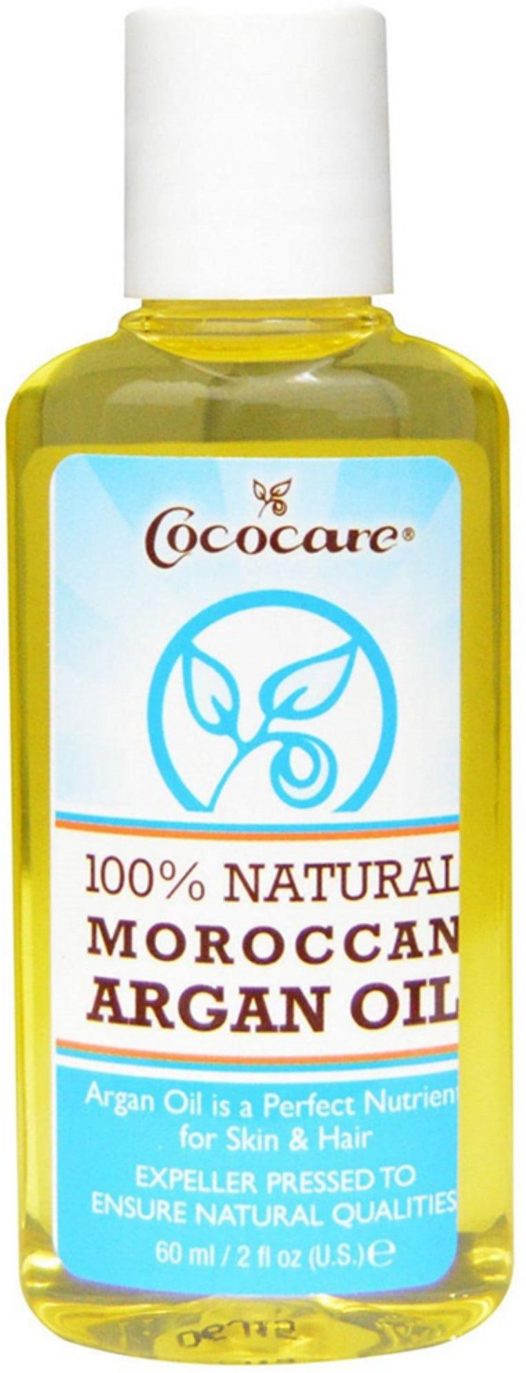 Cococare 100% Argan Oil 2 oz. (Pack of 6) A Glowing Regimen Trial Set
