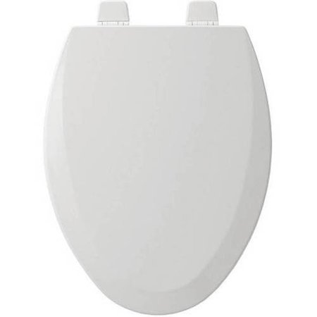 Bemis 1500TTT Wood Elongated Toilet Seat, Available in Various Colors