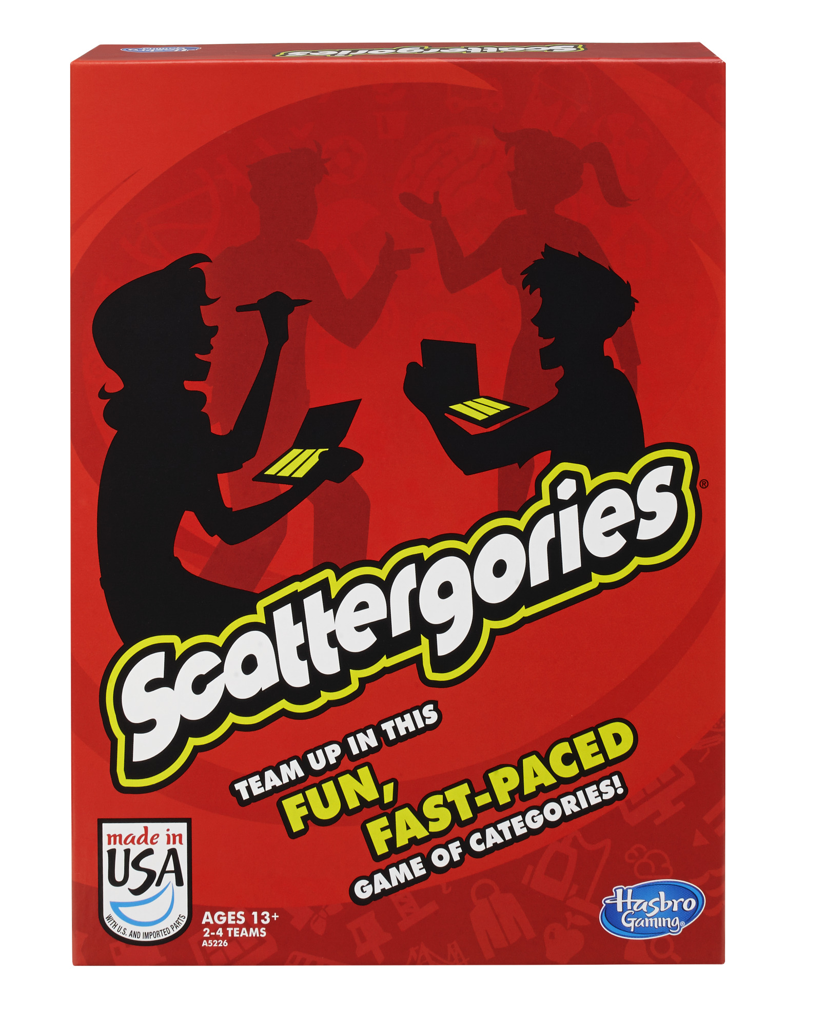 Scattergories Game, Party Game for Ages 13 and up by Hasbro, Inc