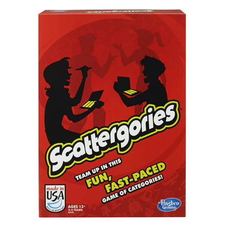 Classic Scattergories Game, Party Game for Ages 13 and up - Halloween Party Games For All Ages