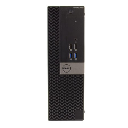 """Dell OptiPlex 7040 Desktop Computer PC, 3.20 GHz Intel i5 Quad Core Gen 6, 4GB DDR3 RAM, 1TB SATA Hard Drive, Windows 10 Home 64 bit, 19"""" Widescreen Screen Refurbished - image 8 de 8"""