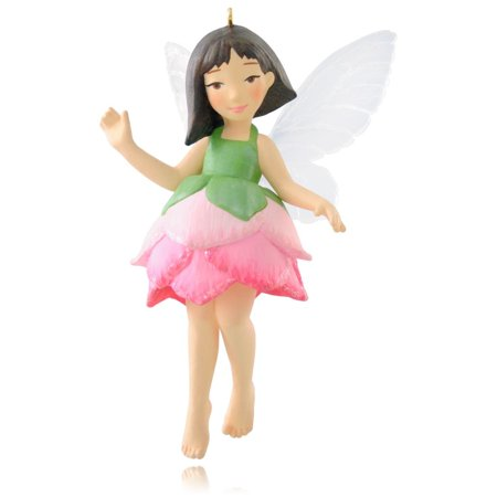 Fairy Collectible Ornaments (Hallmark Ornament 2015 Fairy Messenger #11 Lotus )