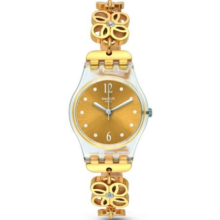 Swatch COUP DE FLEUR Ladies Watch LK360G - Fleur De Lis Pocket Watch