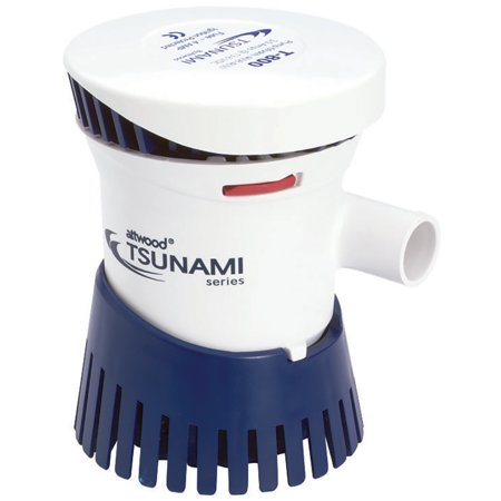 Tsunami 800 GPH Cartridge Bilge Pump, 12VDC (Wireless Brille)