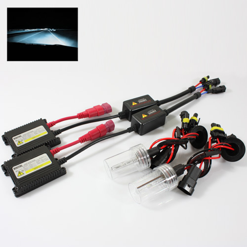 ModifyStreet® 9006/HB4 35W Hi-Power Slim DC Ballast Xenon HID Conversion Kit - 8000K Plasma White