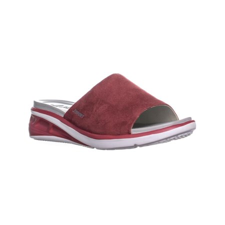 Womens JSport by Jambu Ruby Slide On Sandals, Red (14k Ruby Slide)