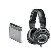 Audio_Technica ATH_M50x Professional Monitor Headphones + Fiio E6 Headphone Amplifier