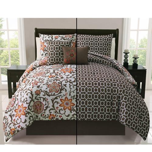 ***DISCONTINUED*** VCNY Home Calista 5 Piece Bedding Comforter Set
