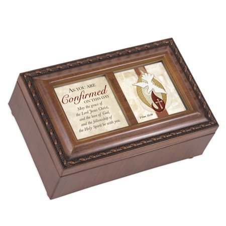 Cottage Garden PM5809S Confirmed On This Day Holy Spirit Petite Music Box