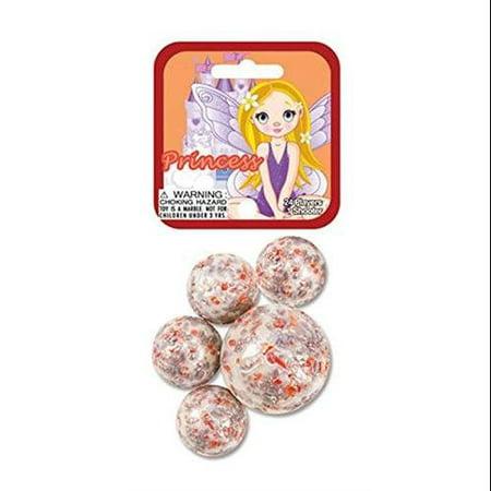 Glass Mega Marbles Princess Game Net Set (25 Piece) for $<!---->