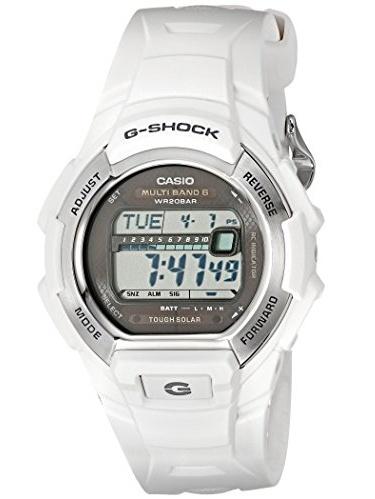 Unisex GWM850-7CR G-Shock Solar Atomic White Watch