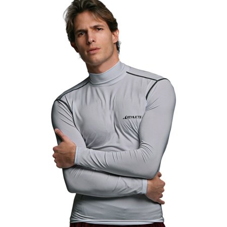 Compression Mock Neck - COOVY ATHLETE Men's Compression Base Layer Long Sleeve Top Mock Neck, Style B05